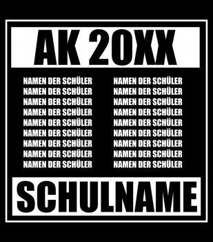 Straight Outta School - Abschluss Namensliste
