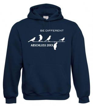 Be Different - Abschluss Marineblau