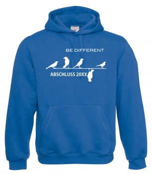 Be Different - Abschluss Royalblau