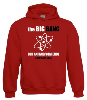 The Big Bang - Abschlusspullover Rot
