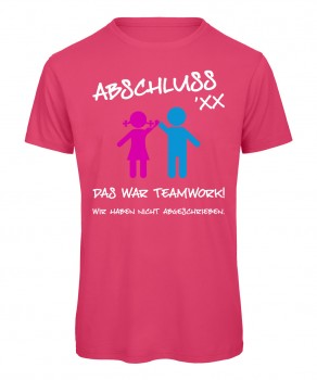 Das war Teamwork Pink