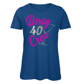 Dirty 40 Crew Royalblau
