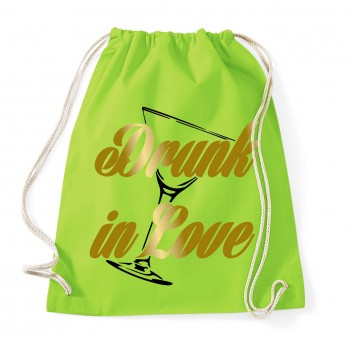 Drunk in Love - JGA Rucksack Lime Green