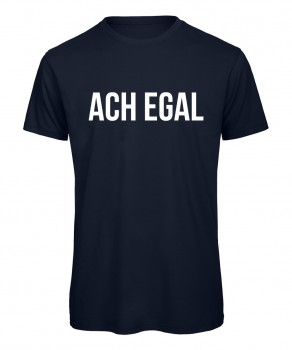 Ach egal - Men T-Shirt Marineblau