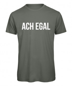 Ach egal - Men T-Shirt Oliv
