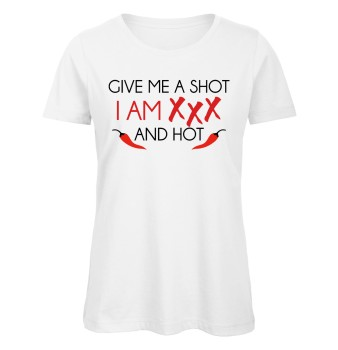 Give Me A Shot I Am XXX And Hot Weiß