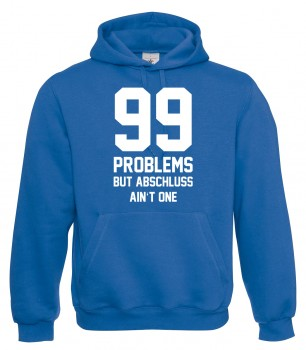 99 Problems - Abschluss Royalblau
