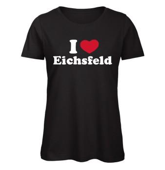I love Eichsfeld Herz 2 Women