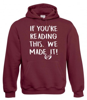 If you're reading this chalk - Abschluss Hoody