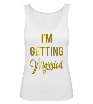 I'm Getting Married Tank Top Weiß