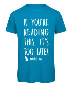 If you reading this its to late JGA T-ShirtAzur