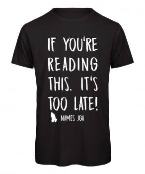 If you reading this its to late JGA T-Shirt Schwarz