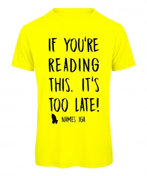 If you reading this its to late JGA T-Shirt Neongelb