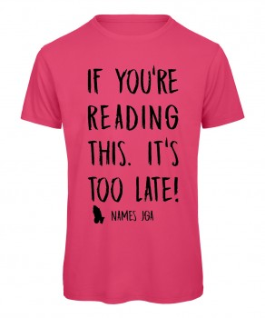 If you reading this its to late JGA T-Shirt Pink