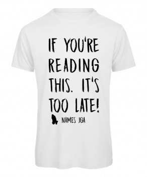 If you reading this its to late JGA T-Shirt Weiß