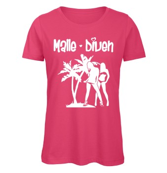 Malle Diven T-Shirt Pink