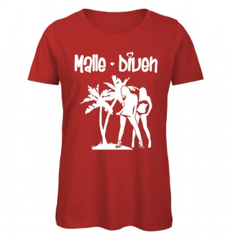Malle Diven T-Shirt Rot