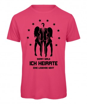 Sorry Girls ich heirate - JGA T-Shirt Pink