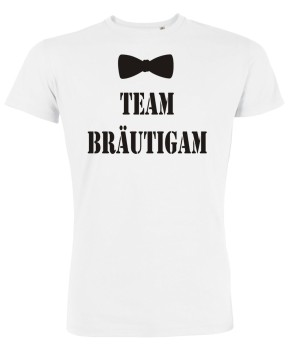 Team Bräutigam Fliege JGA T-Shirt