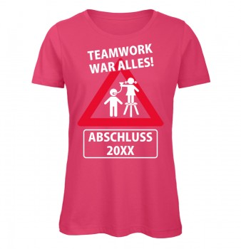 Teamwork war Alles Pink