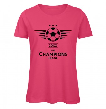 The Champions Leave Pink