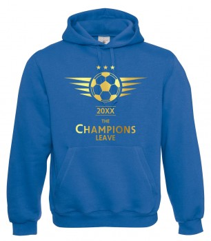 The Champions Leave - Abschluss Royalblau