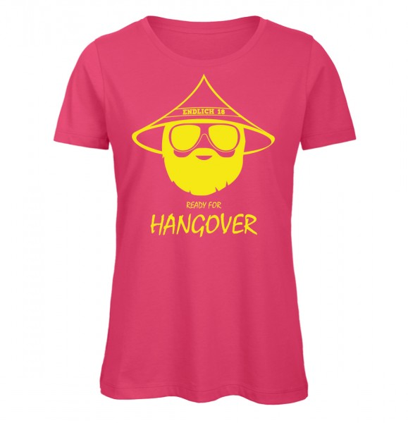 Endlich 18 Ready for Hangover Pink