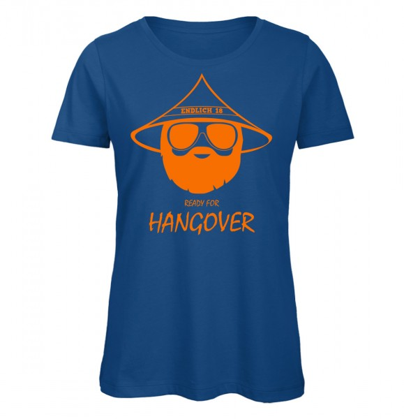 Endlich 18 Ready for Hangover Royalblau