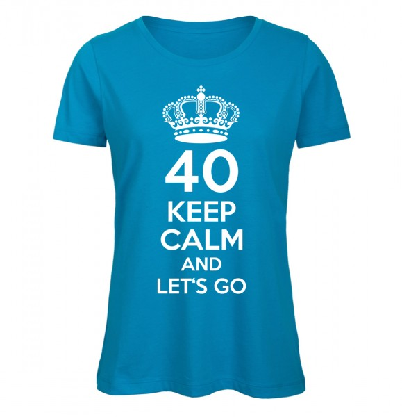 40 keep calm and let's go Azur
