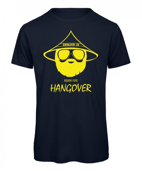 Endlich 18 Ready for Hangover Marineblau