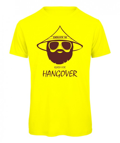 Ready for Hangover 50 Neongelb