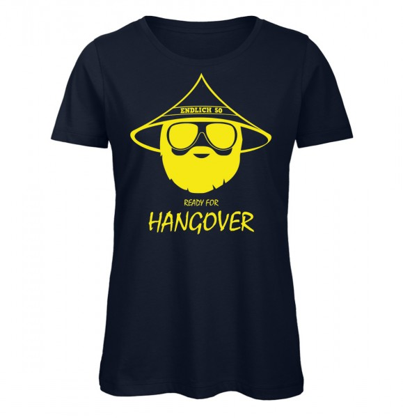 Ready for Hangover 50 Marineblau