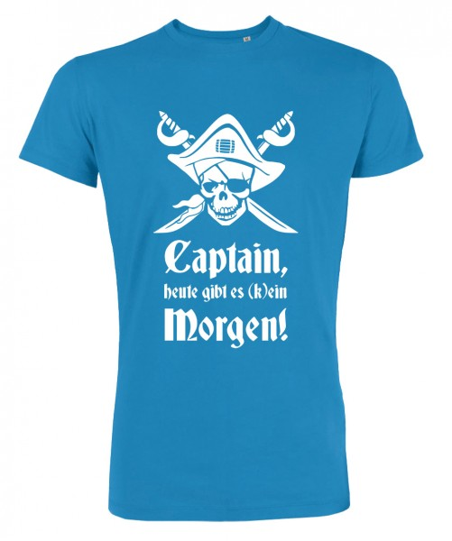 Captain Morgen - JGA T-Shirt Azur