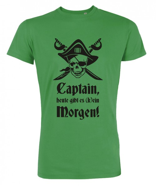 Captain Morgen - JGA T-Shirt Grün