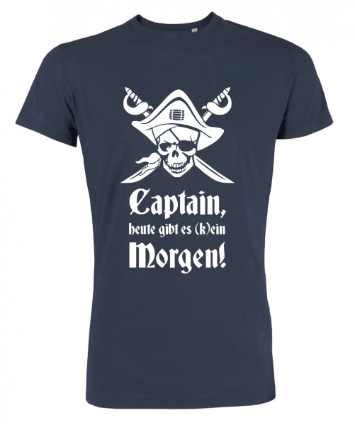 Captain Morgen - JGA T-Shirt Marineblau