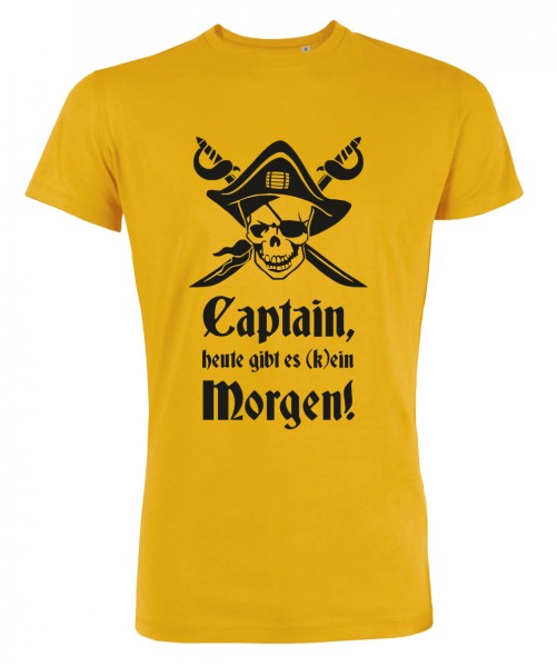 Captain Morgen - JGA T-Shirt Gelb