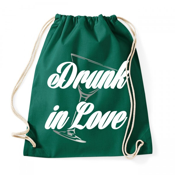 Drunk in Love - JGA Rucksack  Bottle Green