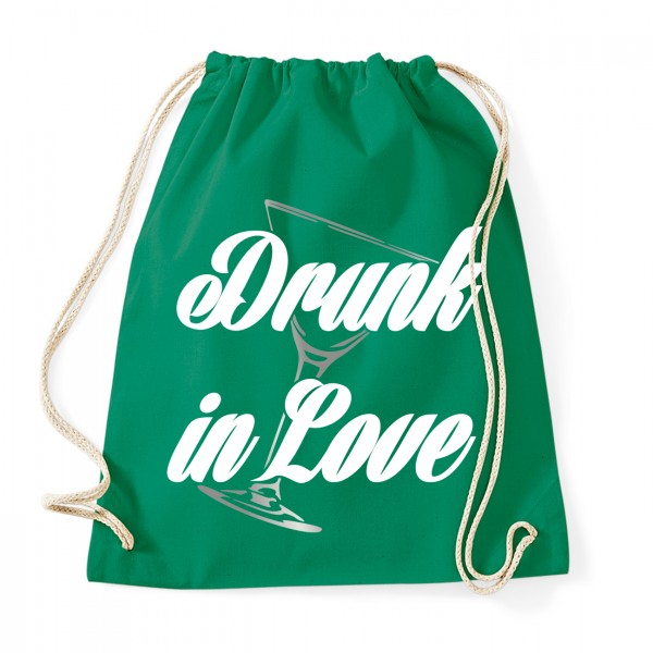 Drunk in Love - JGA Rucksack  Kelly Green