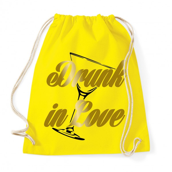 Drunk in Love - JGA Rucksack  Yellow