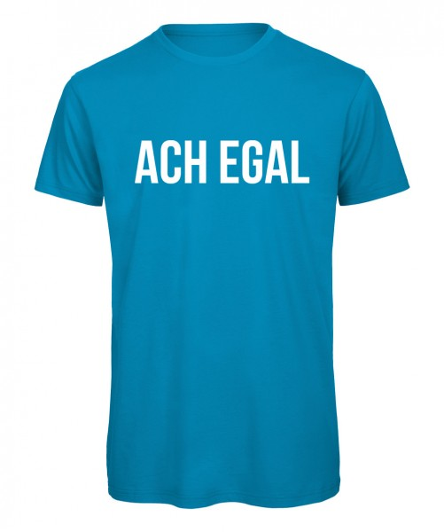 Ach egal - Men T-Shirt Azur