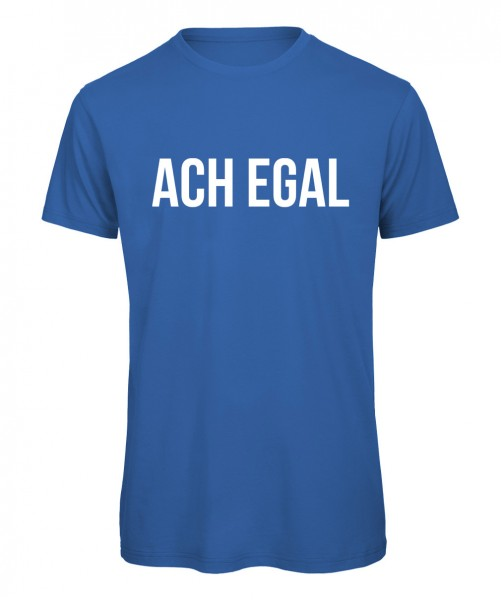 Ach egal - Men T-Shirt Royalblau