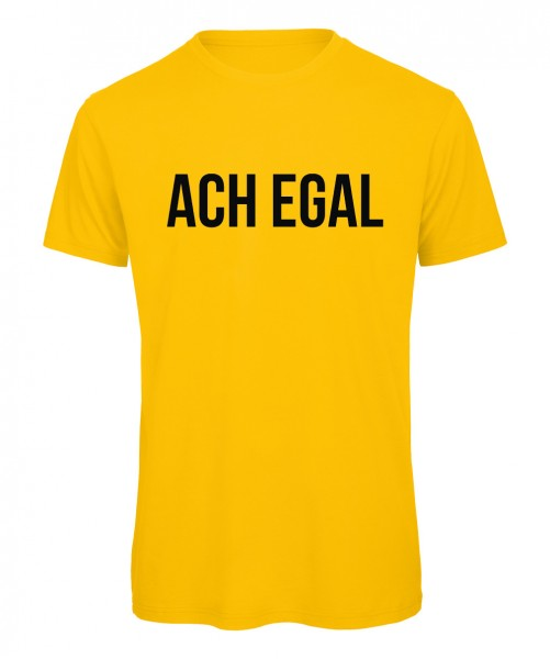 Ach egal - Men T-Shirt Gelb