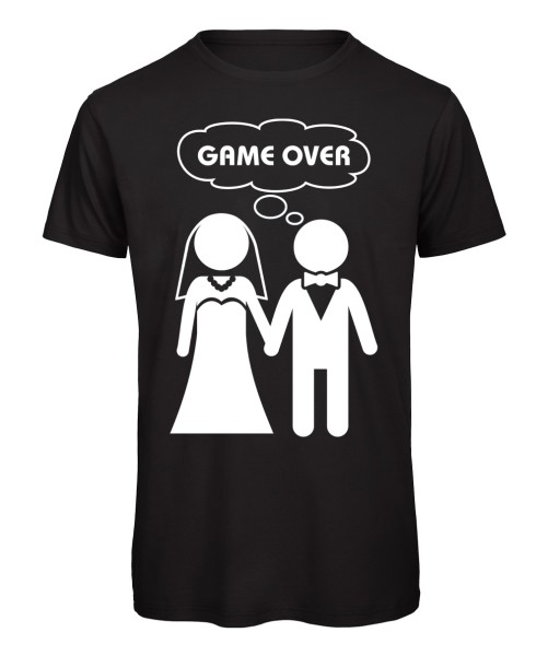 Game Over JGA T-Shirt Schwarz