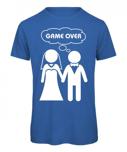 Game Over JGA T-Shirt Royalblau