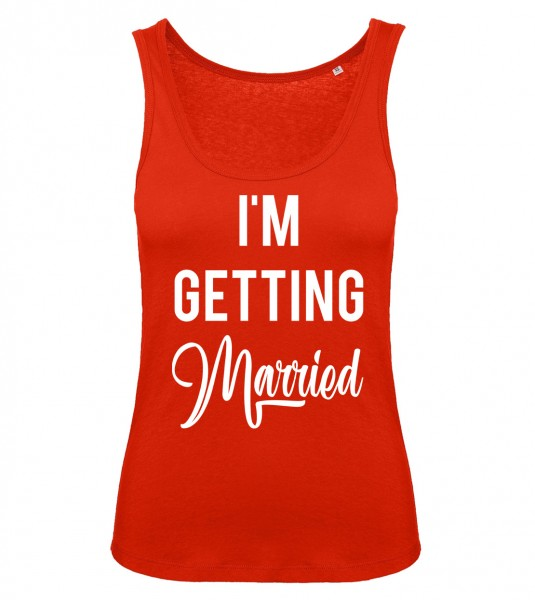 I'm Getting Married Tank Top Rot