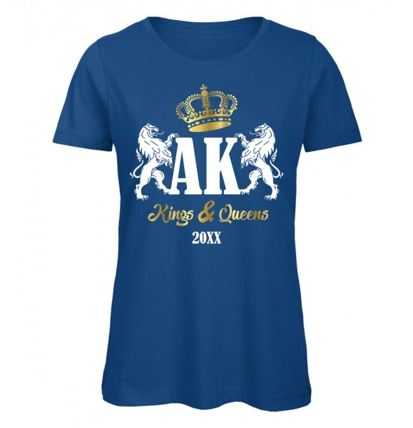 Kings And Queens Royalblau