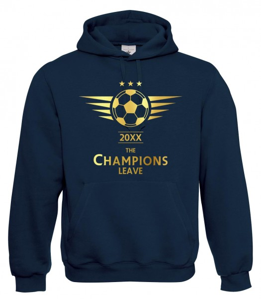 The Champions Leave - Abschluss Marineblau