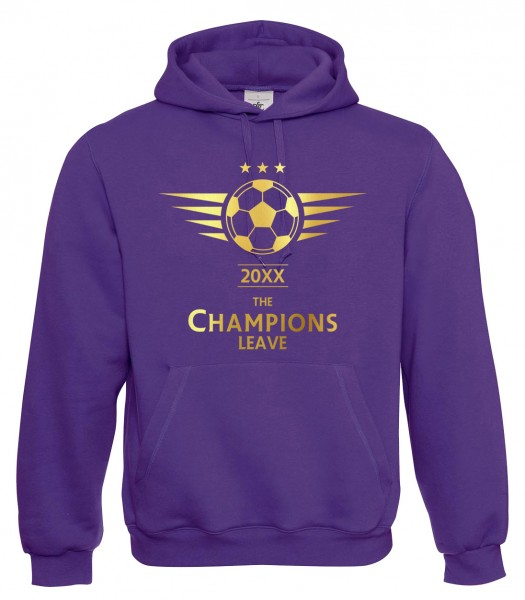 The Champions Leave - Abschluss Purple