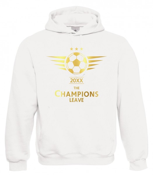 The Champions Leave - Abschluss Weiß